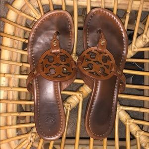 Make offers!! Tory Burch Brown Miller Sandals